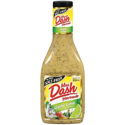 MRS DASH MARINADES Garlic Lime 10 Minute Marinade 12 FL OZ BOTTLE