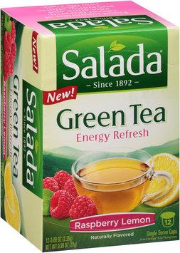 Salada® Energy Refresh Raspberry Lemon Green Tea Single Serve Cups 12 ct Box