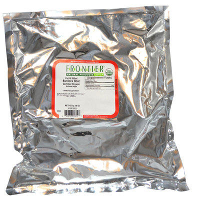 Frontier Burdock Root Cut and Sifted Organic - 1 lb