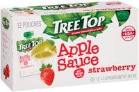 Tree Top® Strawberry Apple Sauce 12-3.2 oz. Pouches