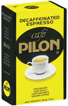 Cafe Pilon® Ground Decaffeinated Espresso Coffee 10 oz vac. bag
