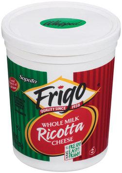 Frigo® Ricotta Whole Milk Whipped Cheese 5 Lb Tub