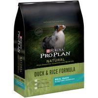 Purina Pro Plan Natural Adult Duck & Rice Formula Dog Food 4 lb. Bag