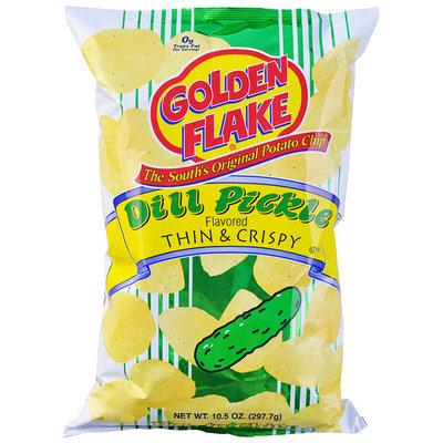 Golden Flake® Dill Pickle Flavored Thin & Crispy Potato Chips