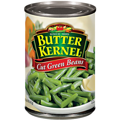 Butter Kernel Cut Green Beans 14.5 Oz Can