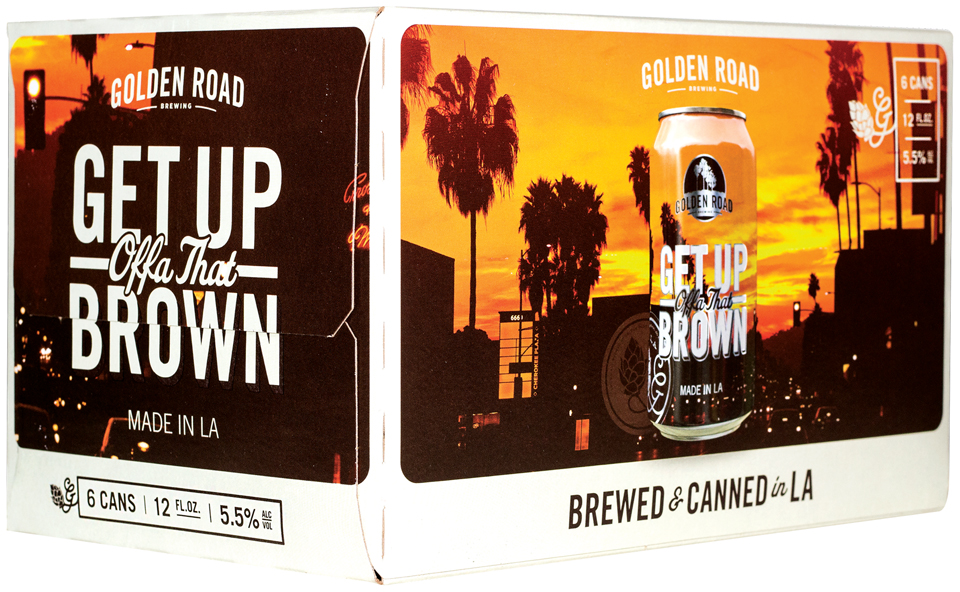 Get Up Offa That Brown Beer 6 ct Box