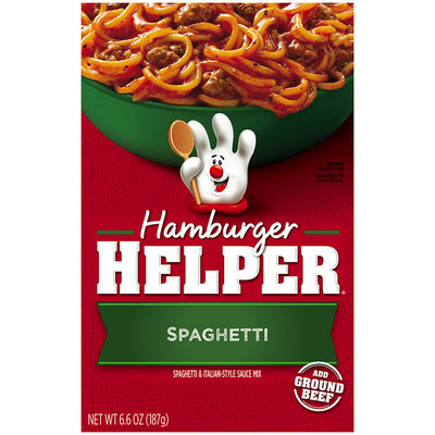 Betty Crocker® Spaghetti Hamburger Helper® 6.6 oz. Box