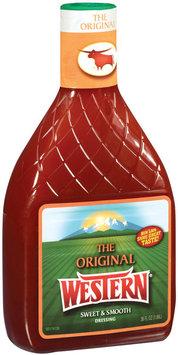 Western Original Salad Dressing 36 Fl Oz Plastic Bottle