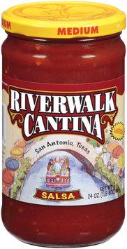 River Walk Cantina Medium Salsa 24 Oz Jar