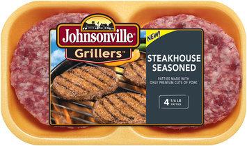 Johnsonville Grillers Steakhouse Seasoned 16oz 4ct tray (102036)