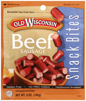 Old Wisconsin® Beef Sausage Snack Bites