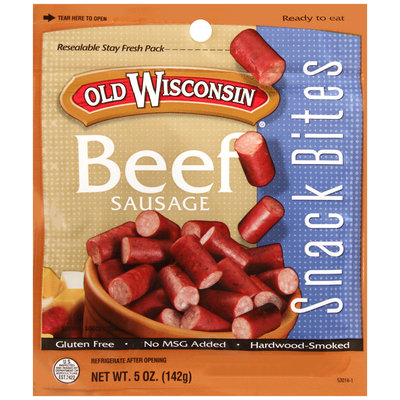 Old Wisconsin® Beef Sausage Snack Bites