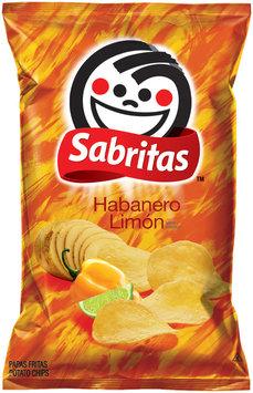 Sabritas Habanero Limon Potato Chips 1.875 Oz Bag