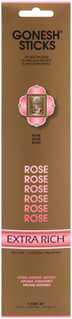 Gonesh® Extra Rich® Rose Incense Sticks 20 ct Carded Pack