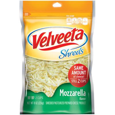 Kraft Mozzarella Flavor Velveeta Shreds 8 oz. Bag