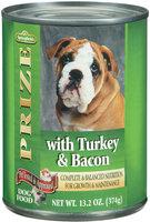 Springfield Prize W/Turkey & Bacon Dog Food 13.2 Oz Can