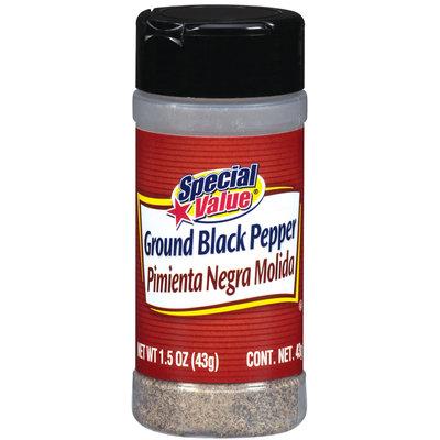 Special Value  Ground Black Pepper 1.5 Oz Shaker