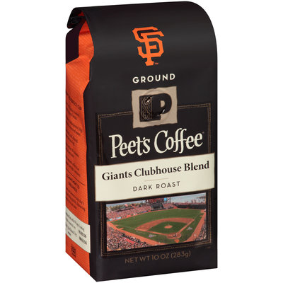 Peet's Coffee® Giants Clubhouse Blend Dark Roast Ground Coffee 10 oz. Bag