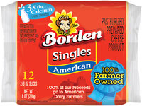 Borden® American Cheese Singles