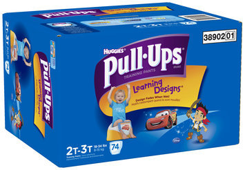 Huggies® Pull-Ups® Training Pants with Learning Designs® for Boys 2T-3T 74 ct Box