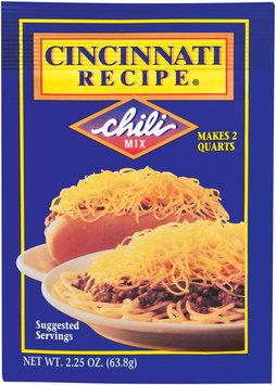 Cincinnati Recipe  Chili Mix 2.25 Oz Packet