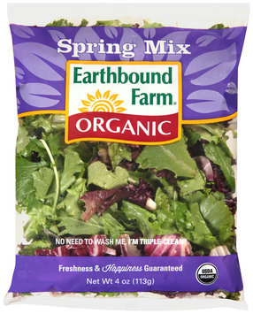 earthbound farm® organic spring mix