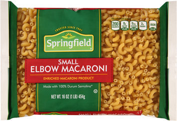 Springfield® Small Elbow Macaroni 16 oz. Bag