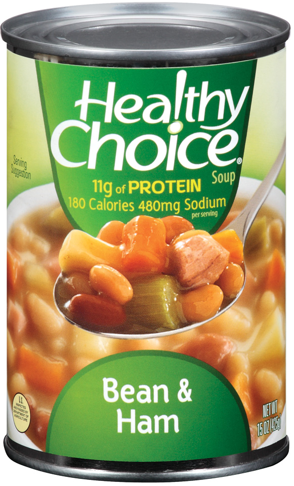 Healthy Choice Bean & Ham Soup