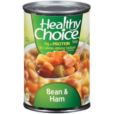 Healthy Choice Bean & Ham Soup 15 Oz Can