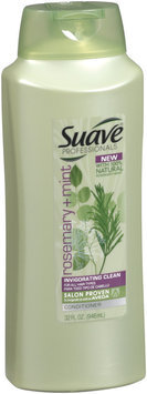 Suave Professionals® Rosemary + Mint Invigorating Clean Conditioner 28 fl. oz. Pump