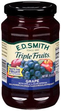 E.D. Smith® Triple Fruits® Grape with Apple & Plum Fruit Spread 15 oz. Jar