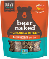 Bear Naked® Dark Chocolate Sea Salt Granola Bites 1.3 oz. Bag