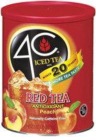 4C Itm-Sugar-Red (Peach) Itm-Sugar 53 Oz Canister