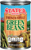 Stater Bros.® French Style Green Beans 14.5 oz. Can