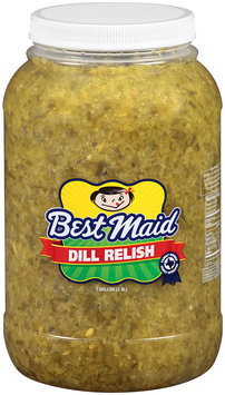 Best Maid® Dill Relish 1 gal. Plastic Jar