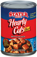 Stater Bros. Hearty Cuts In Gravy W/Chicken Dog Food 13.2 Oz Can