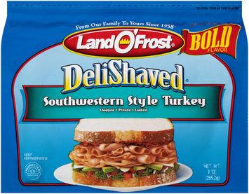 Land O' Frost® Delishaved® Bold Southwestern Style Turkey 9 oz. Package