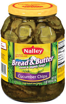 Nalley® Bread & Butter Cucumber Chip Pickles 46 fl. oz. Jar