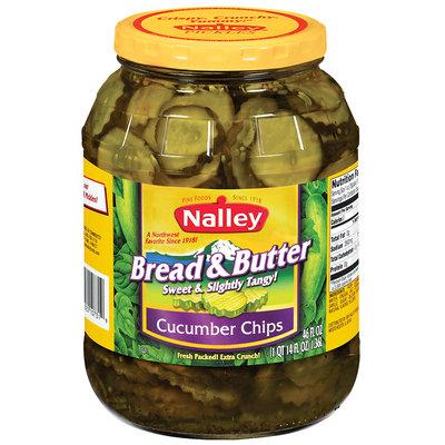 Nalley® Bread & Butter Cucumber Chip Pickles 46 fl. oz. Jar