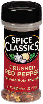Spice Classics® Crushed Red Pepper 1.75 oz. Shaker