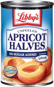 Libby's® Unpeeled Apricot Halves 15 Oz Can