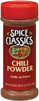 Spice Classics  Chili Powder 4.37 Oz Shaker