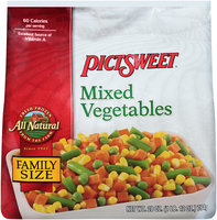 ALL NATURAL  Mixed Vegetables 28 OZ STAND UP BAG