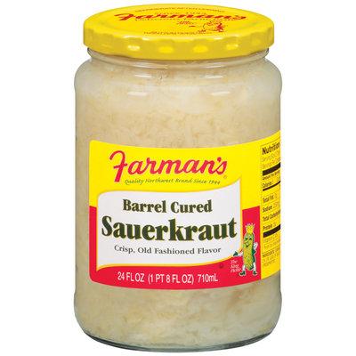 Farman's Barrel Cured Sauerkraut