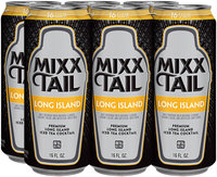 Mixx Tail Premium Long Island Iced Tea Cocktail 16 fl. oz. Can