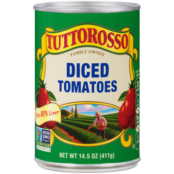 Tuttorosso® Diced Tomatoes 14.5 oz. Can