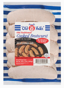 Purnell's Old Folks Old Fashioned  Cooked Bratwurst 32 Oz Bag
