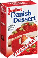 Junket Strawberry Danish Dessert 4.75 Oz Box