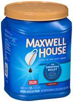 Maxwell House Original Medium Roast Ground Coffee 44.5 oz. Canister