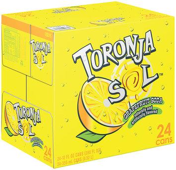 Toronja Sol® Grapefruit Soda 24 Pack 12 fl. oz. Cans